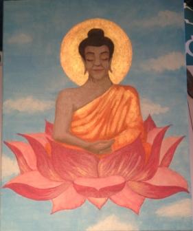 budda lotus