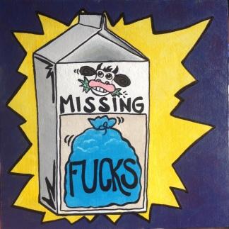 milk painted